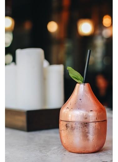 Bakır İstanbul Pear Kokteyl Bardağı Renkli